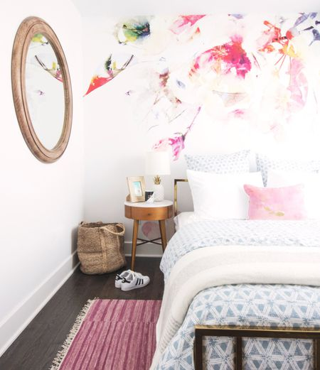 Bedroom Mural House Tour