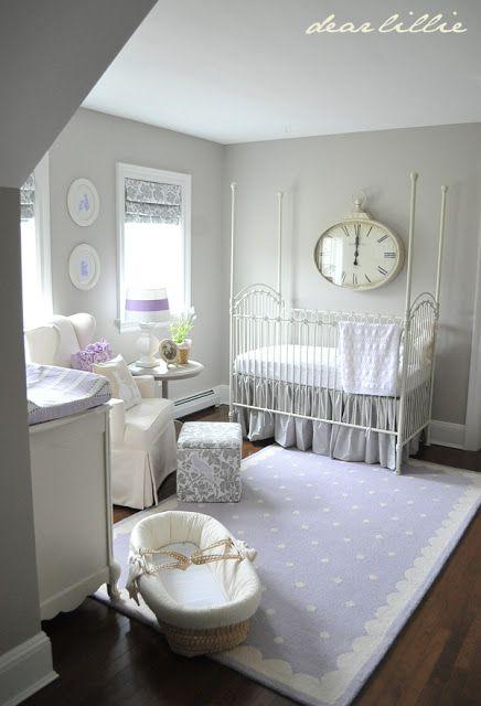 Understated Purple Nursery
