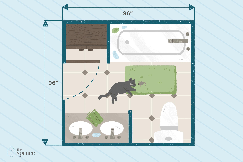 shower stall schematic 15 free bathroom floor plans you can use  15 free bathroom floor plans you can use