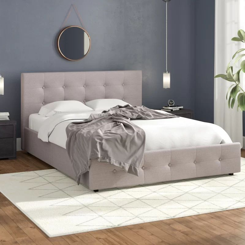 Winston Porter Houchins Upholstered Storage Platform Bed