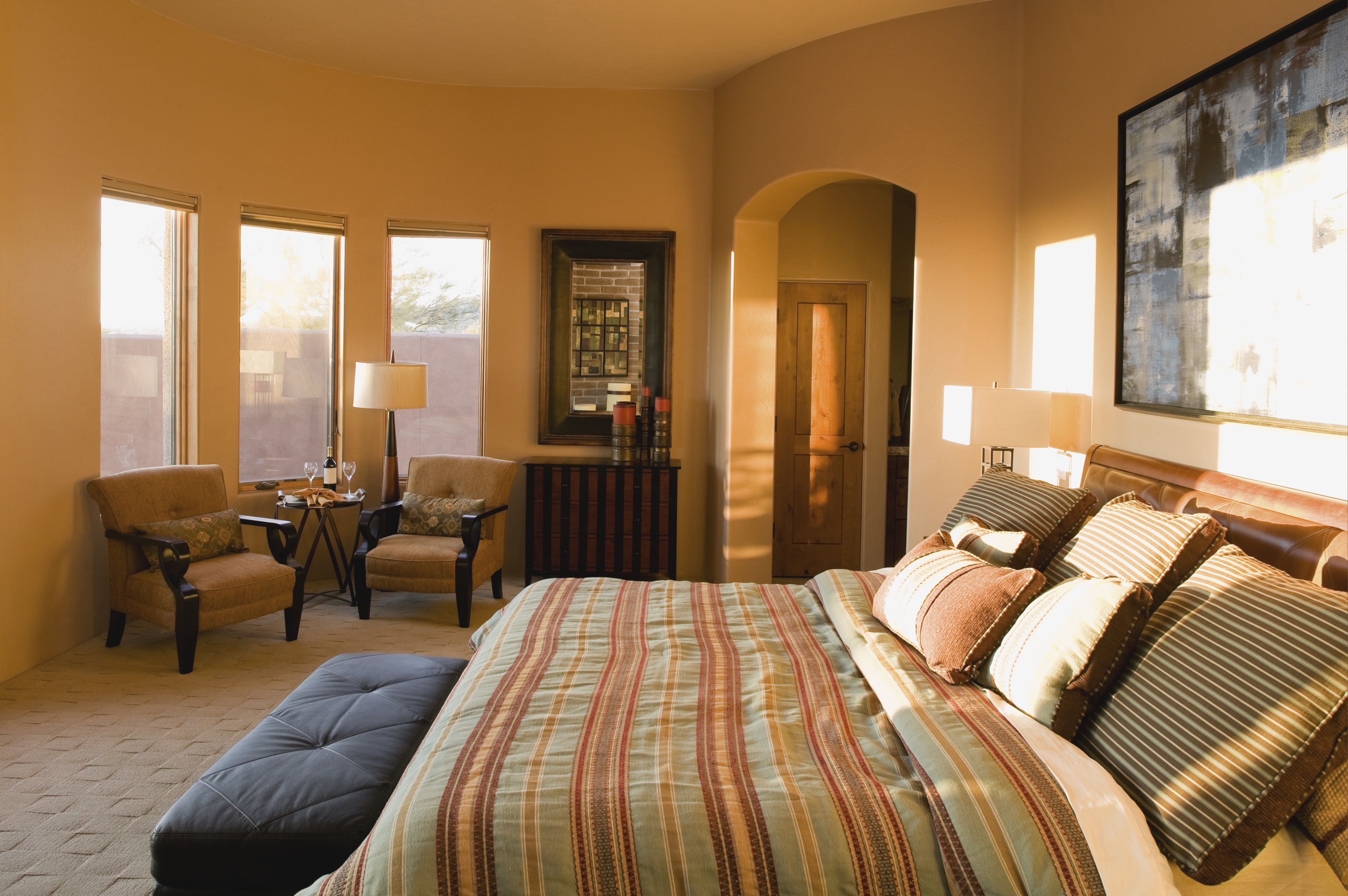 Tuscan Bedroom Decorating Ideas and Photos