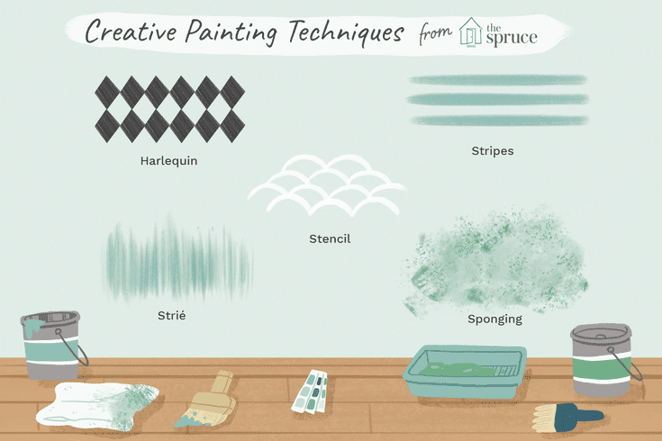 10 Decorative Paint Techniques For Your Walls
