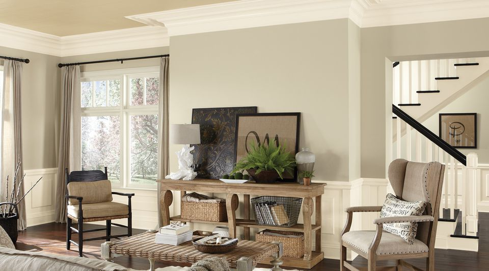 Neutral Living Room Ideas for Home Flipping