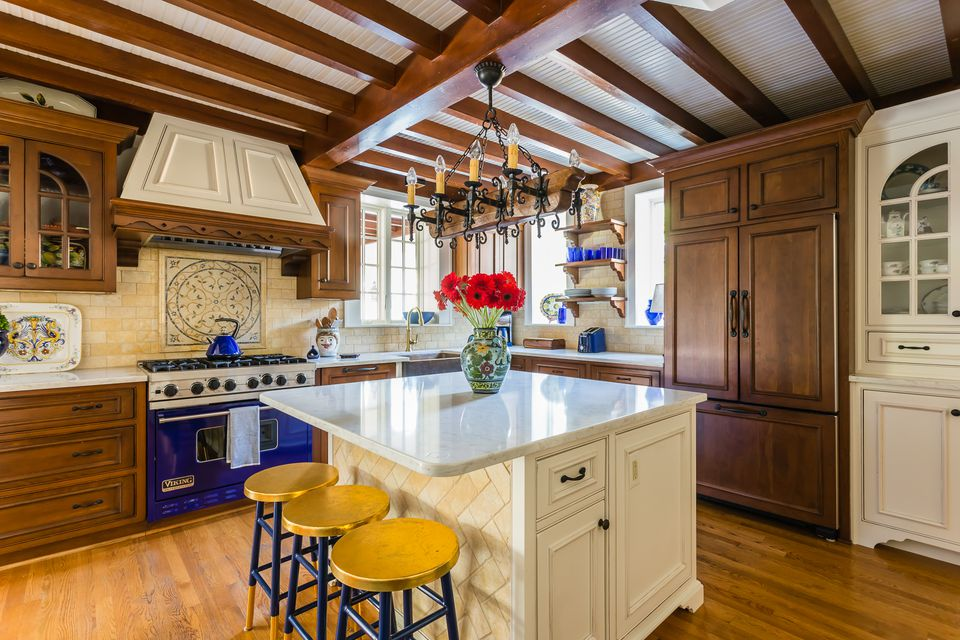 Modern Take on Spanish Style kitchen
