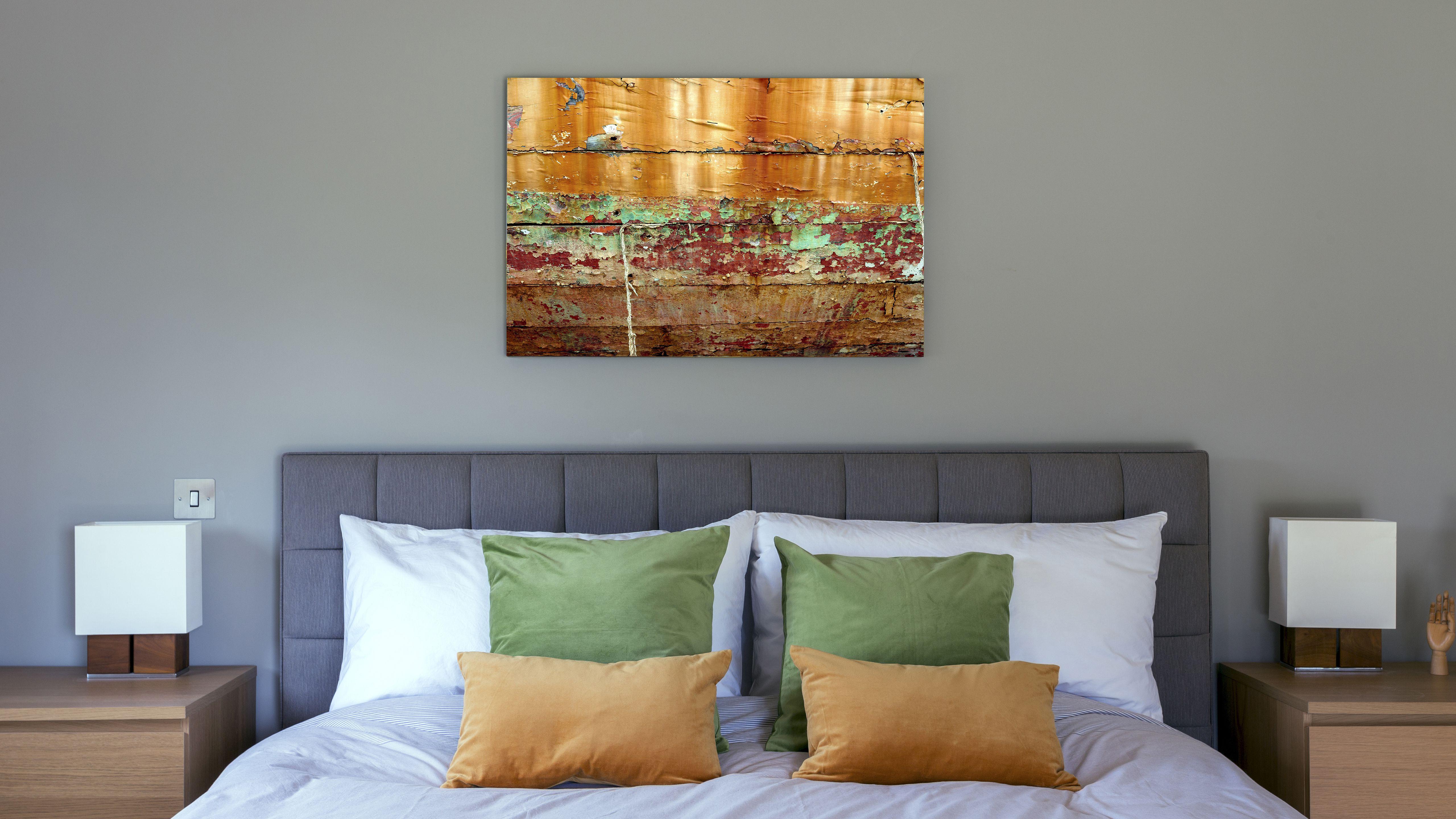 wall art in bedroom