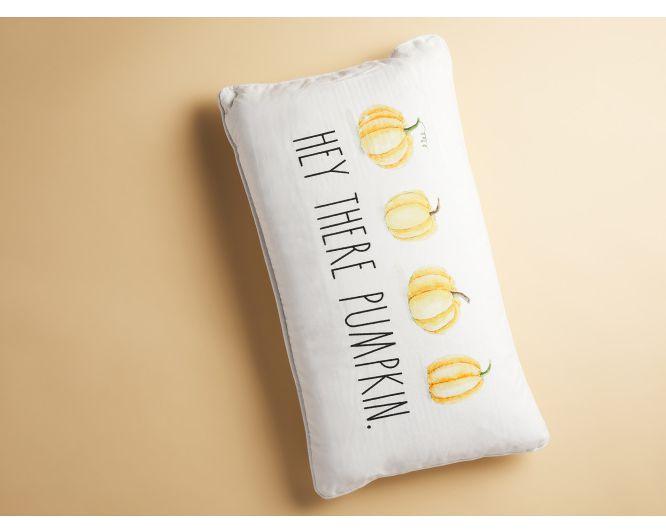 'Hey There Pumpkin' Pillow