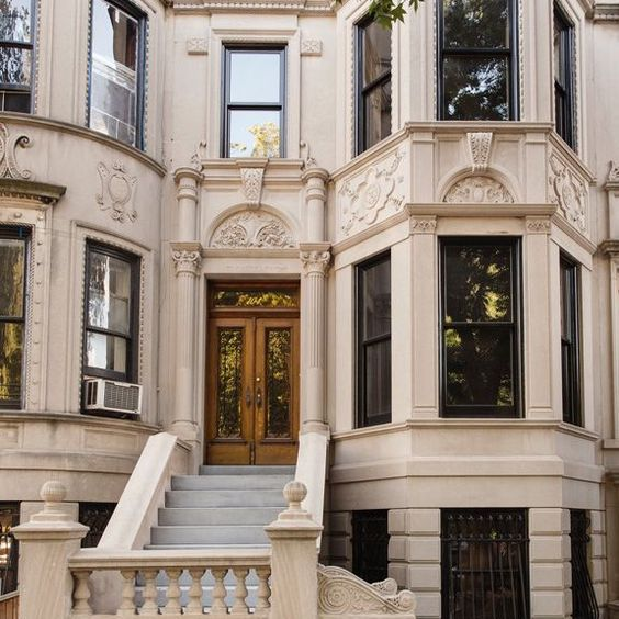 A stately Brooklyn limestone home