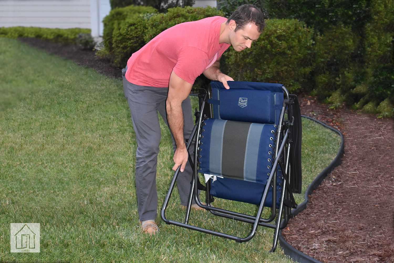 Timber Ridge Zero Gravity Outdoor Lounger