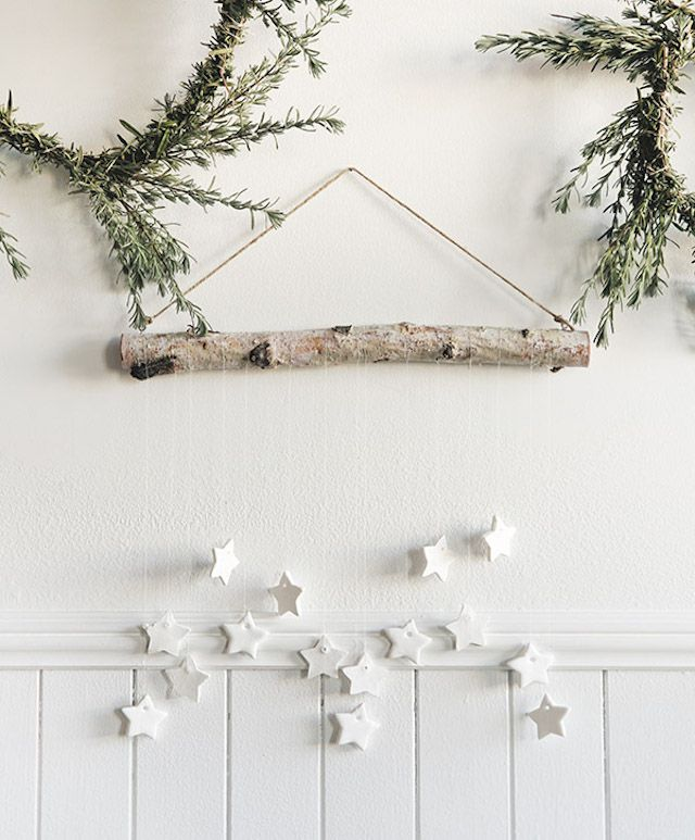 Branch wall hanging