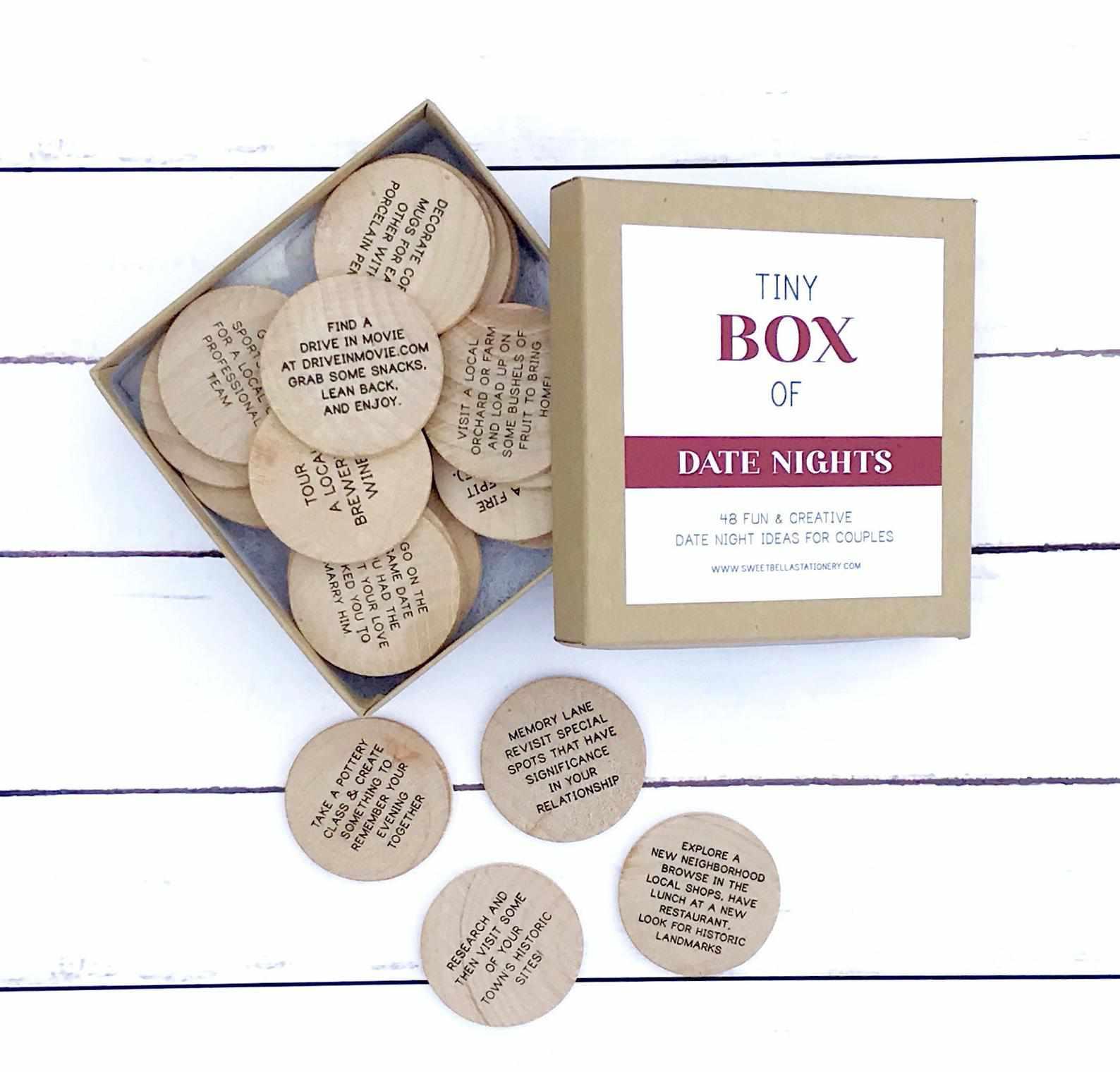 Etsy Tiny Box of Date Nights
