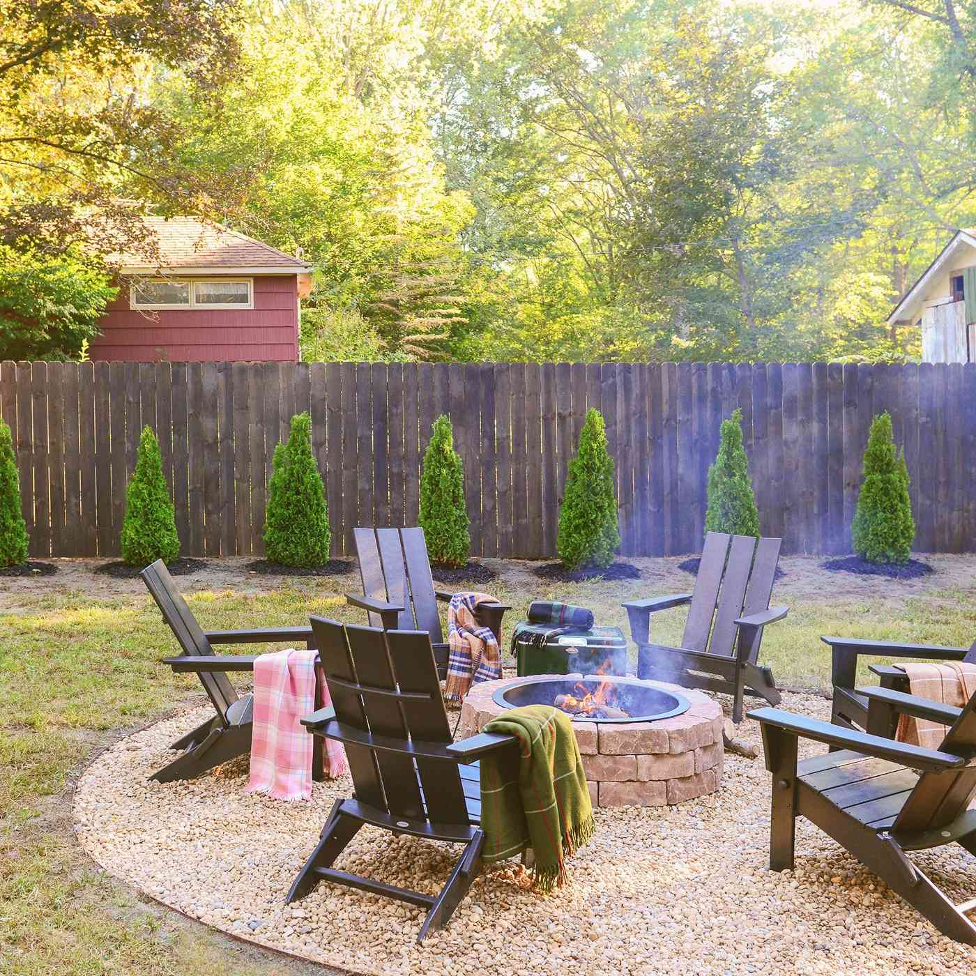 Backyard Lawn Makeover - After