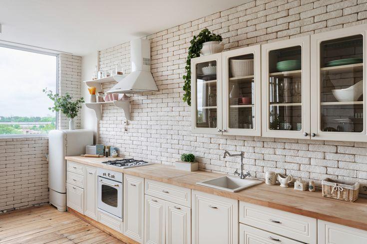 Kitchen Cabinet Design Essentials, Prefabricated Kitchen Cabinets Arranged In Single Wall