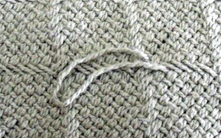 How To Fix A Snag In A Sweater Or Knitted Fabric