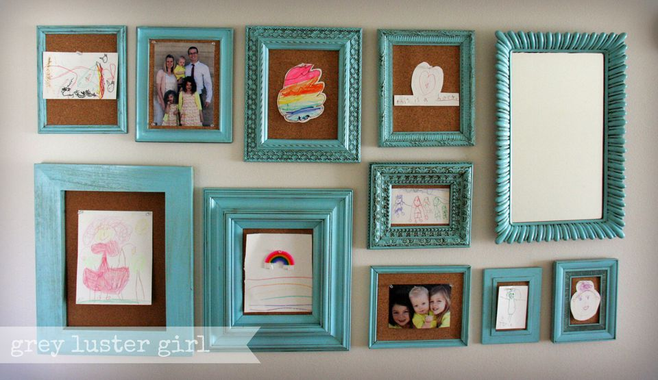 Some Creative Ways to Display Your Kid\'s Art