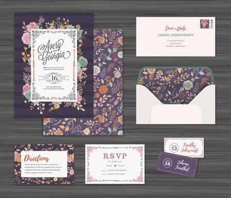 Wedding invitation wording examples stopboris Images