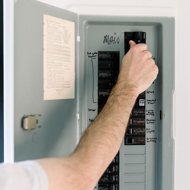 Identifying and Understanding Your Main Circuit Breaker | Home Fuse Box For Master |  | The Spruce