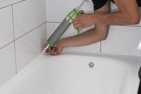 How To Caulk Like A Pro - Fast drying shower caulk