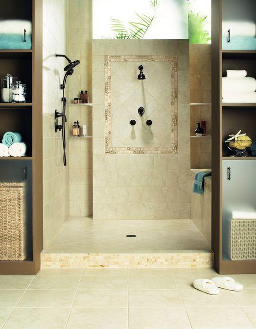 imágenes de pisos de cerámica de baño