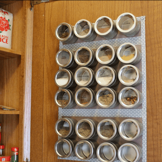 Large Magnetic Spice Rack