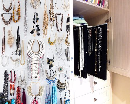 Best Ways To Necklaces In A Small Walk Closet