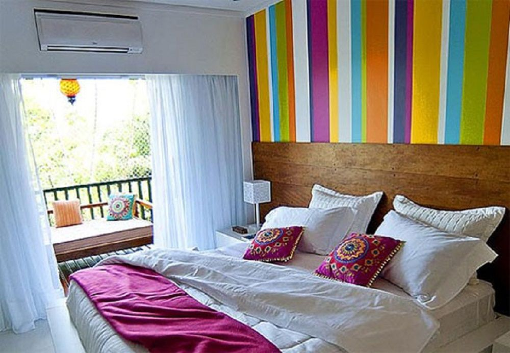 colorful bedroom ideas and photos - Colorful Bedroom
