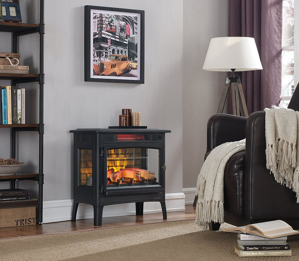 The 8 Best Electric Fireplace Heaters Of 2019