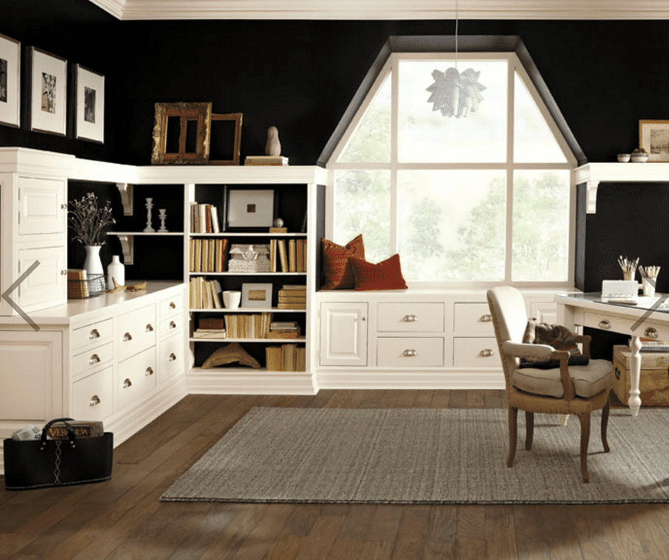 Home Office: Top 10 Home Office Wall Paint Color Ideas