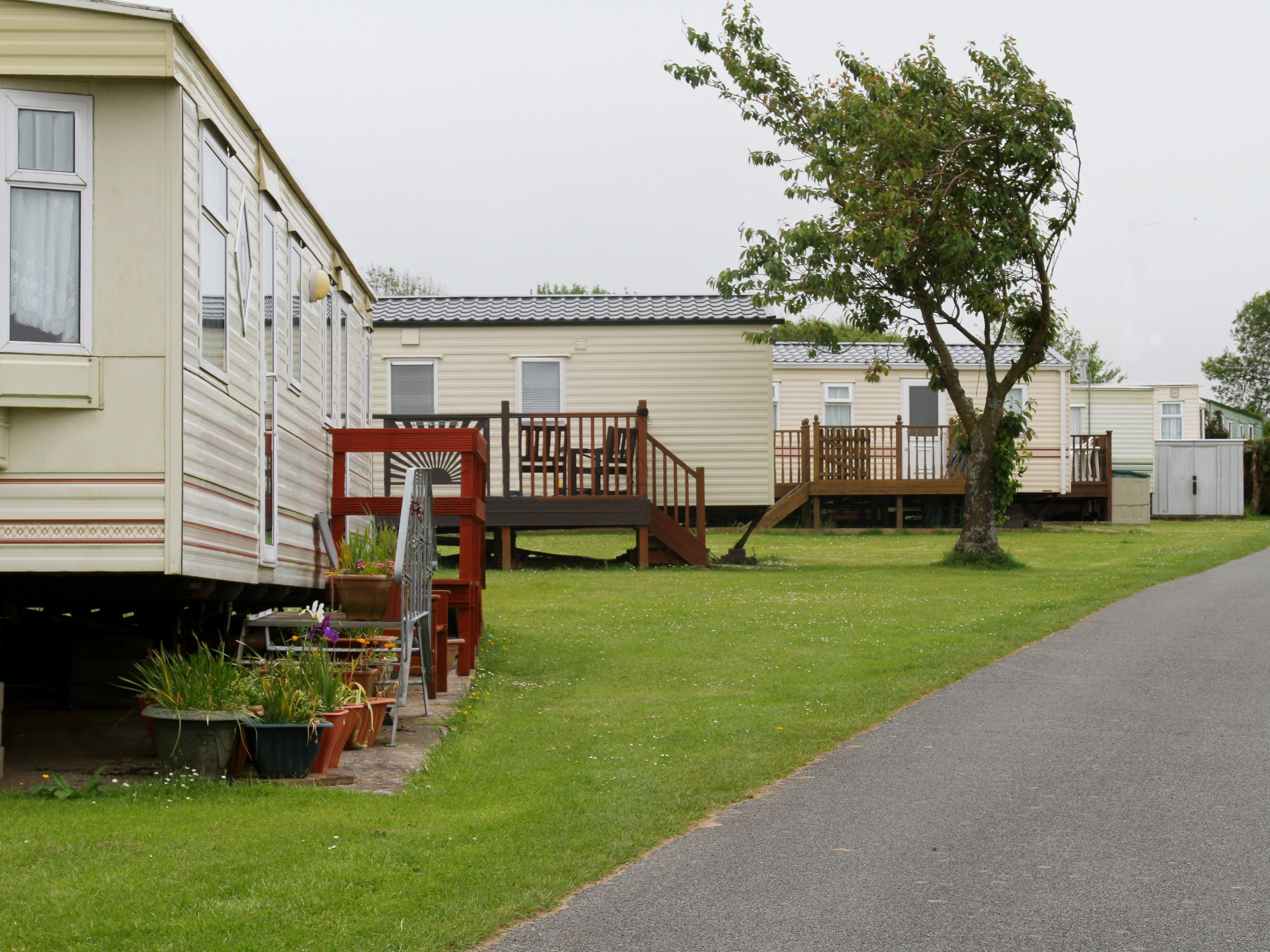 How to shut off the main water supply in a mobile home