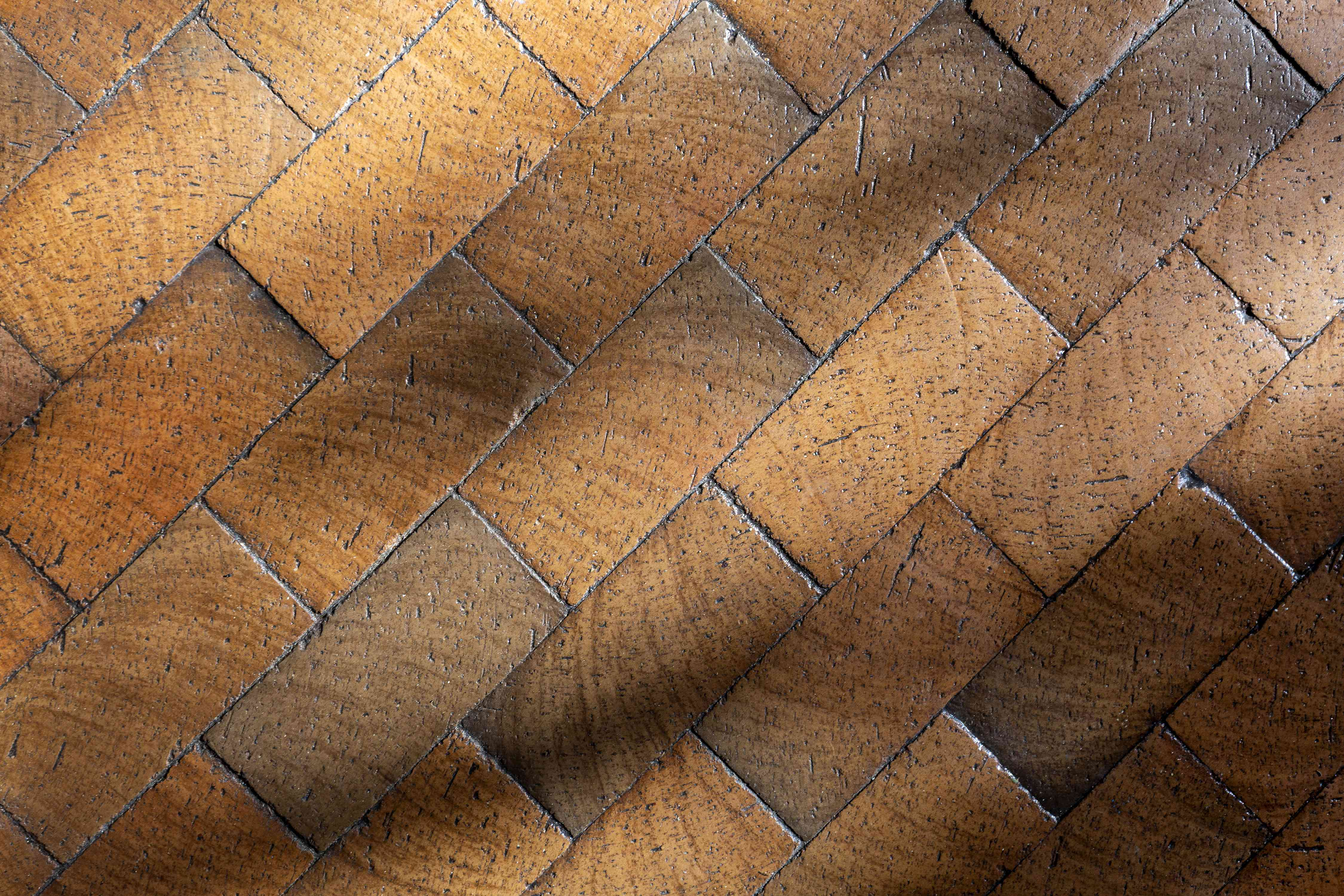 brick floor detail