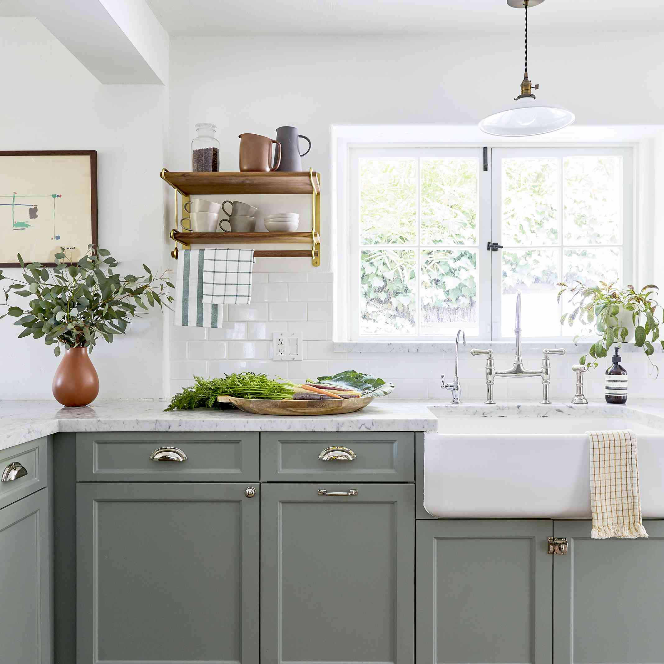 Kitchen styled by Emily Edith Bowser, designed by Sarah E Zachary