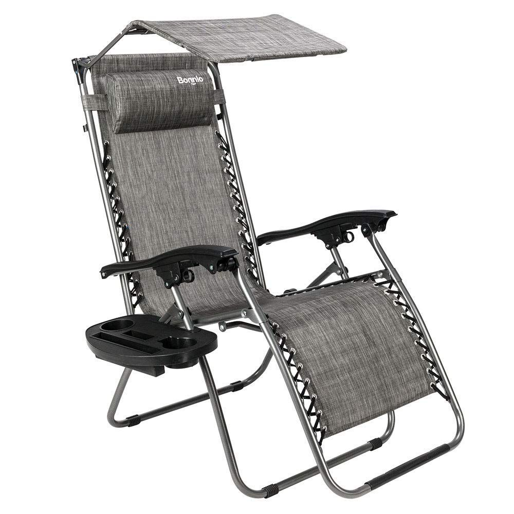 Bonnlo Zero Gravity Chair with Canopy