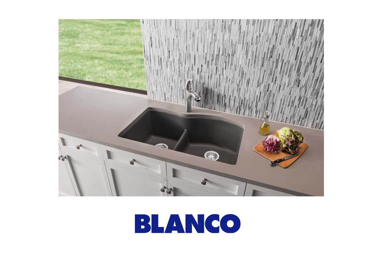 Blanco Low Divide Sink Diamond Silgranit America