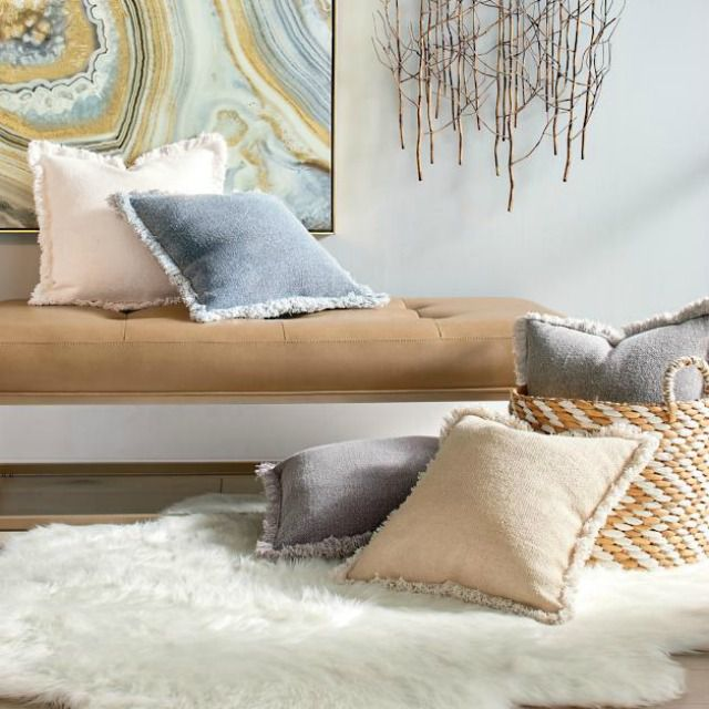 20 Fringe Pillows To Buy