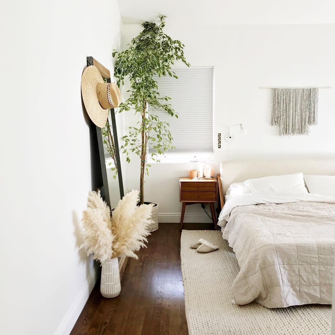 Pampas Grass in Bedroom