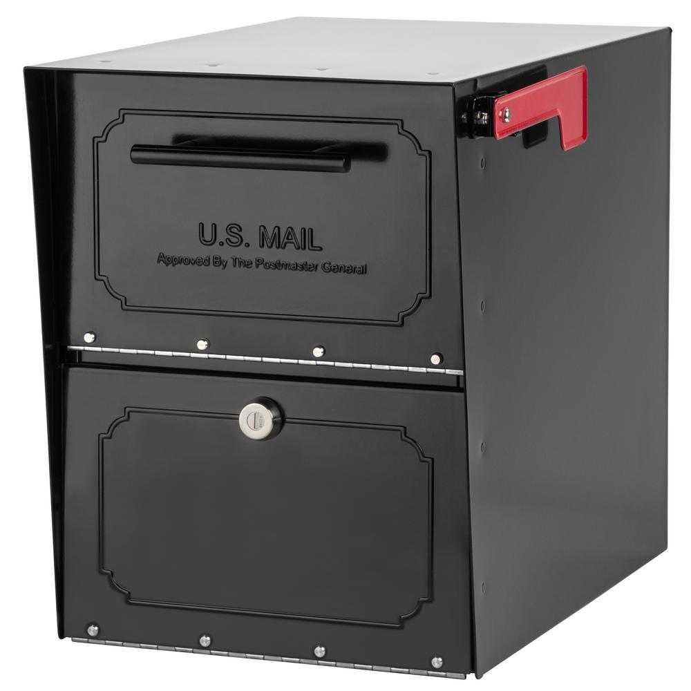 Locking-Post-Mount-Mailbox