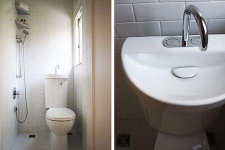 Shrimpy Bathroom With Toilet Sink
