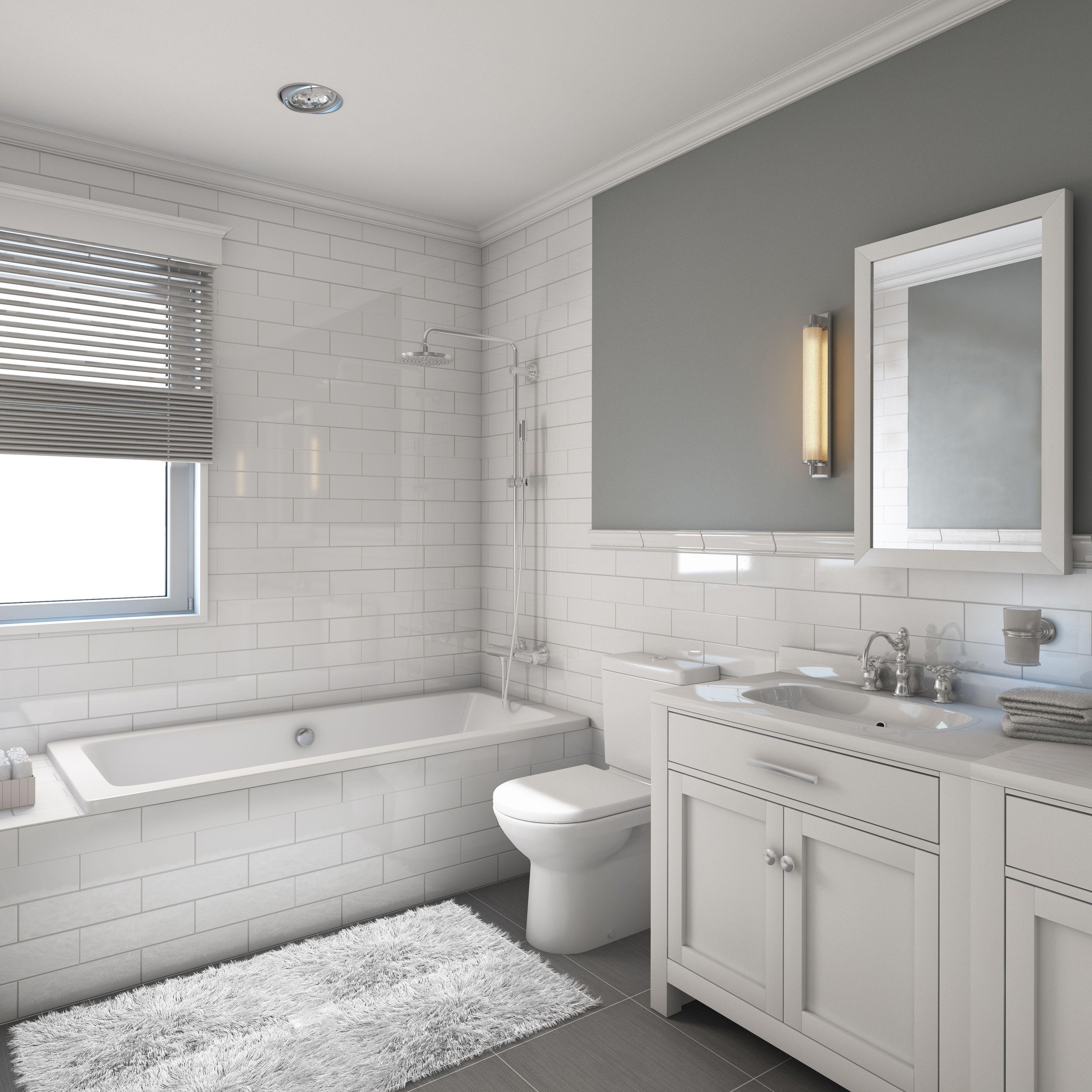 17 Clic Gray And White Bathrooms