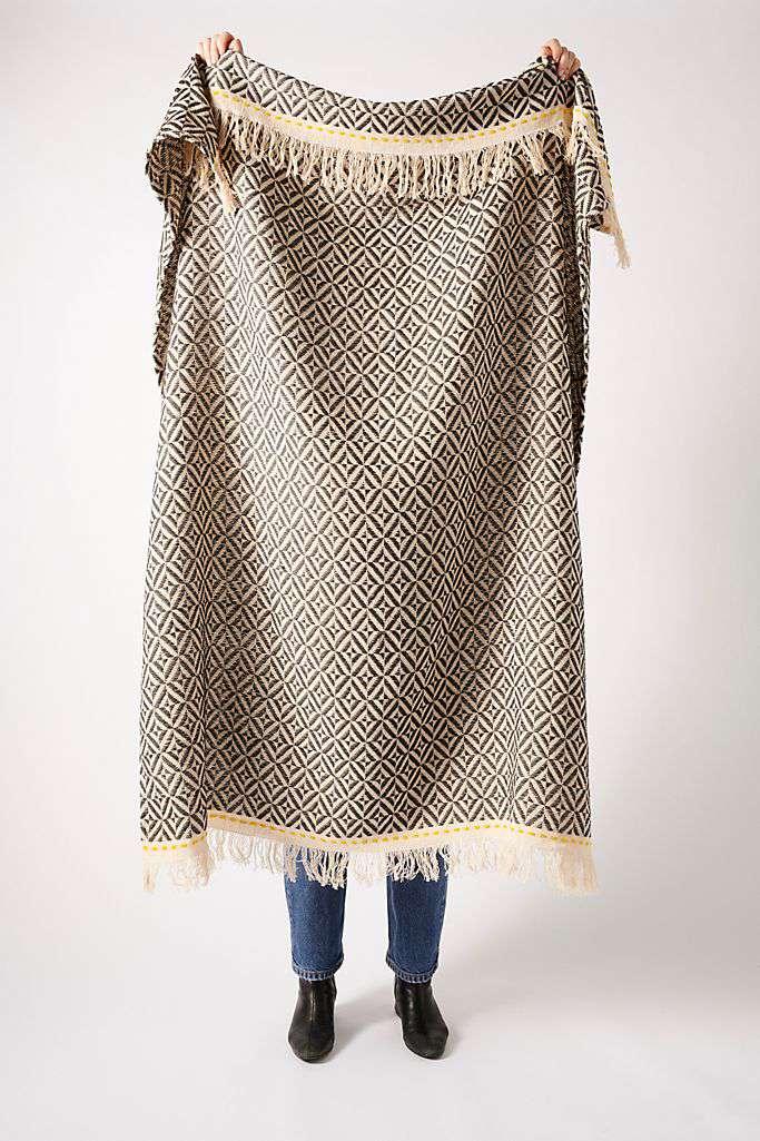 Diamond Weave Throw Blanket