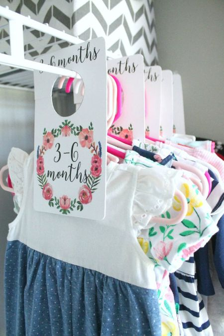 Nursery Closet Dividers For Organizing Baby Clothes