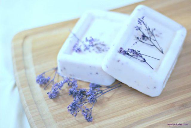 DIY Homemade Lavender Soap