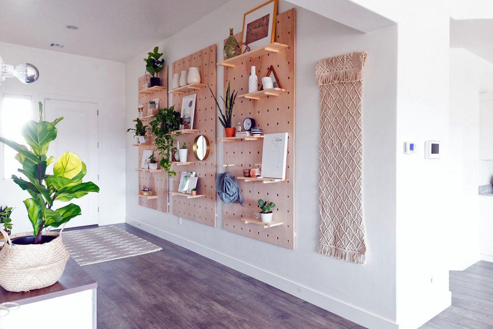 Peg-board-Storage-entryway