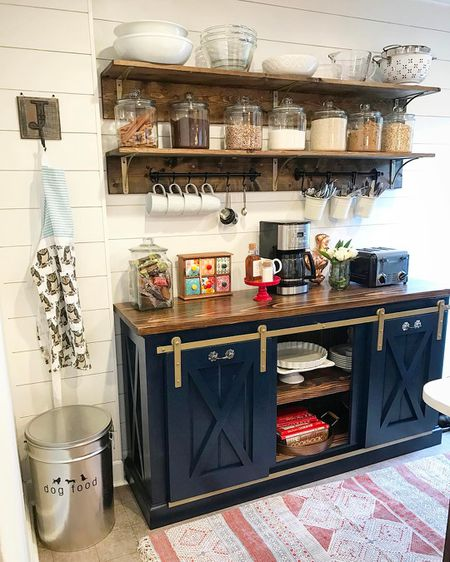 10 Beautiful Open Kitchen Shelving Ideas on open shelving bookcase, open shelving pantry, open shelf kitchen cabinets, open shelving kitchen wall,