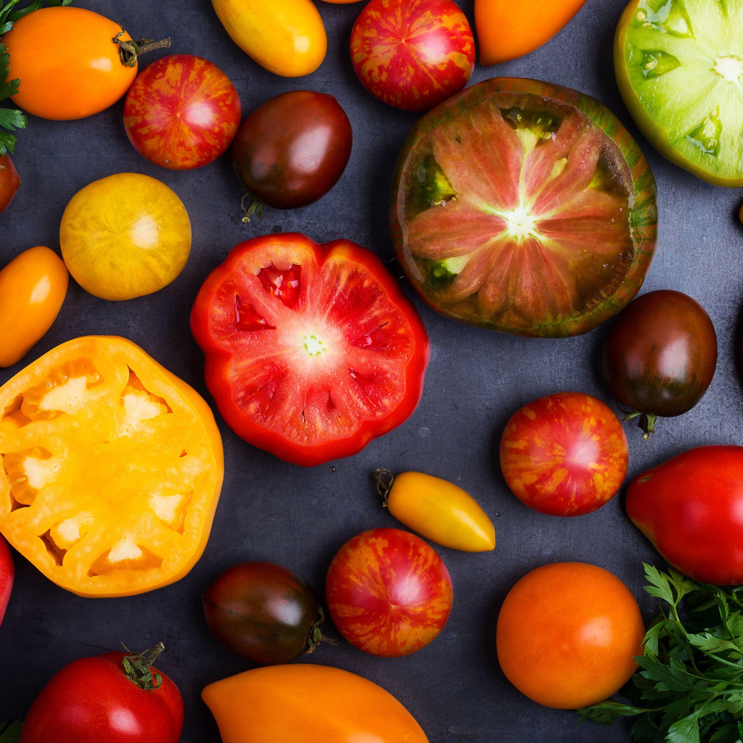 Striped Heirloom Tomato Varieties