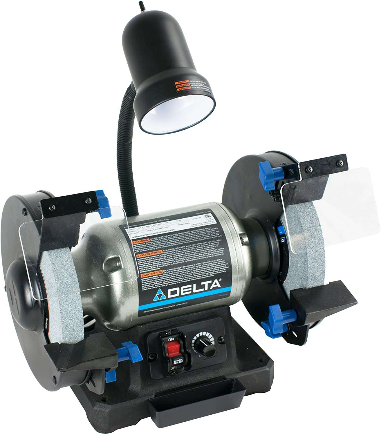 23-197 8-Inch Variable Speed Bench Grinder