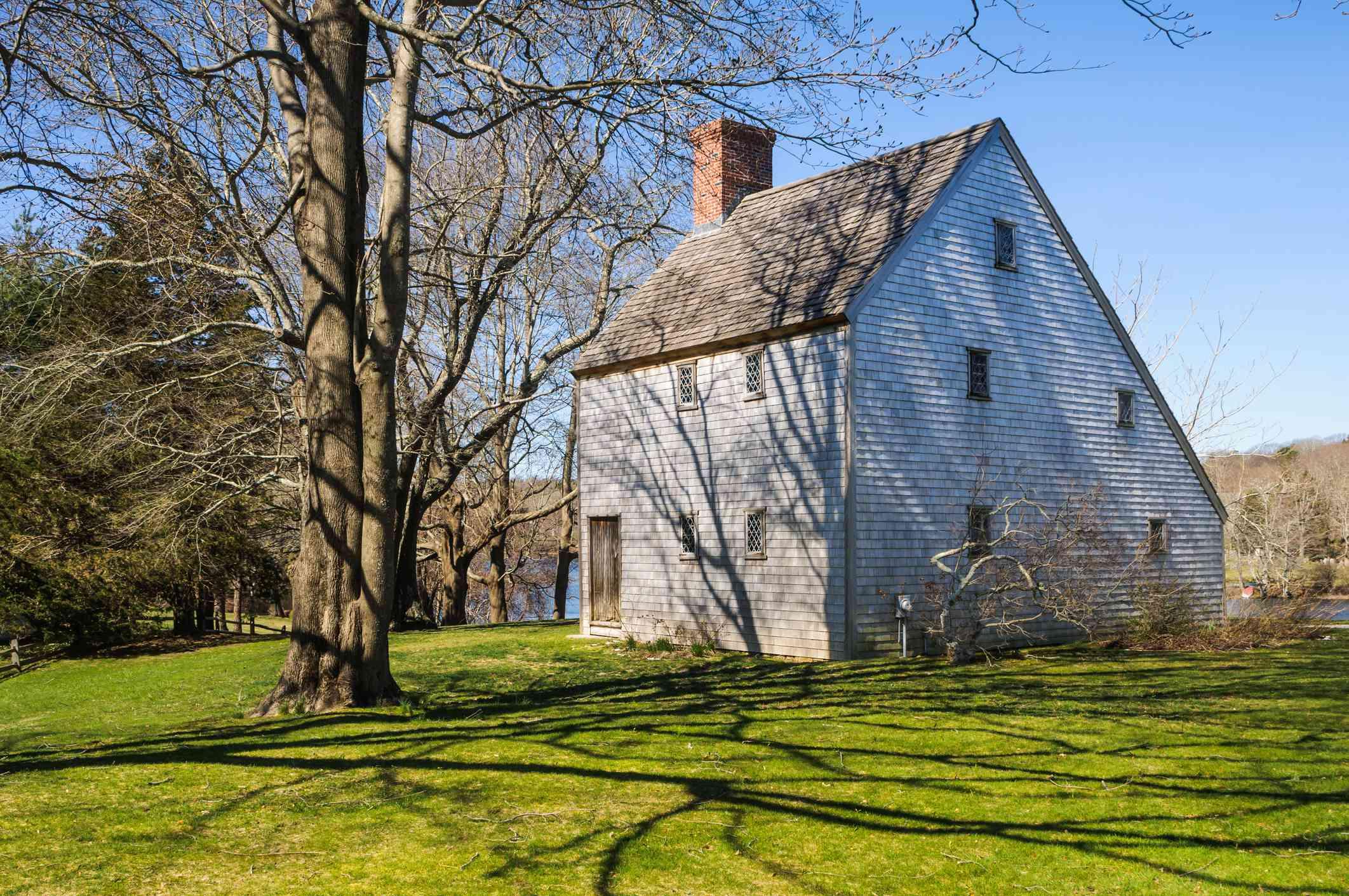 Historic saltbox home