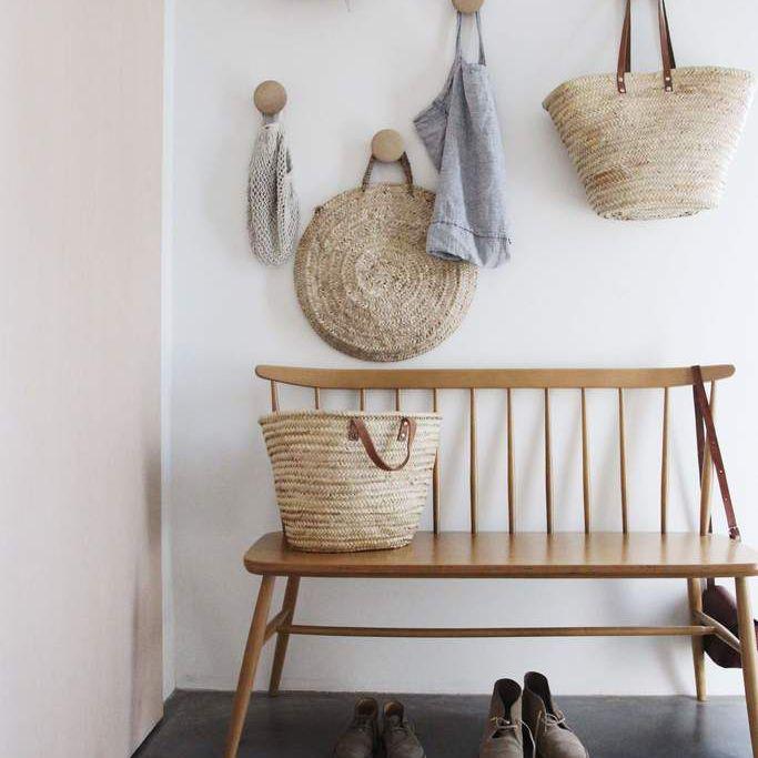 Wooding Hooks in Hallway