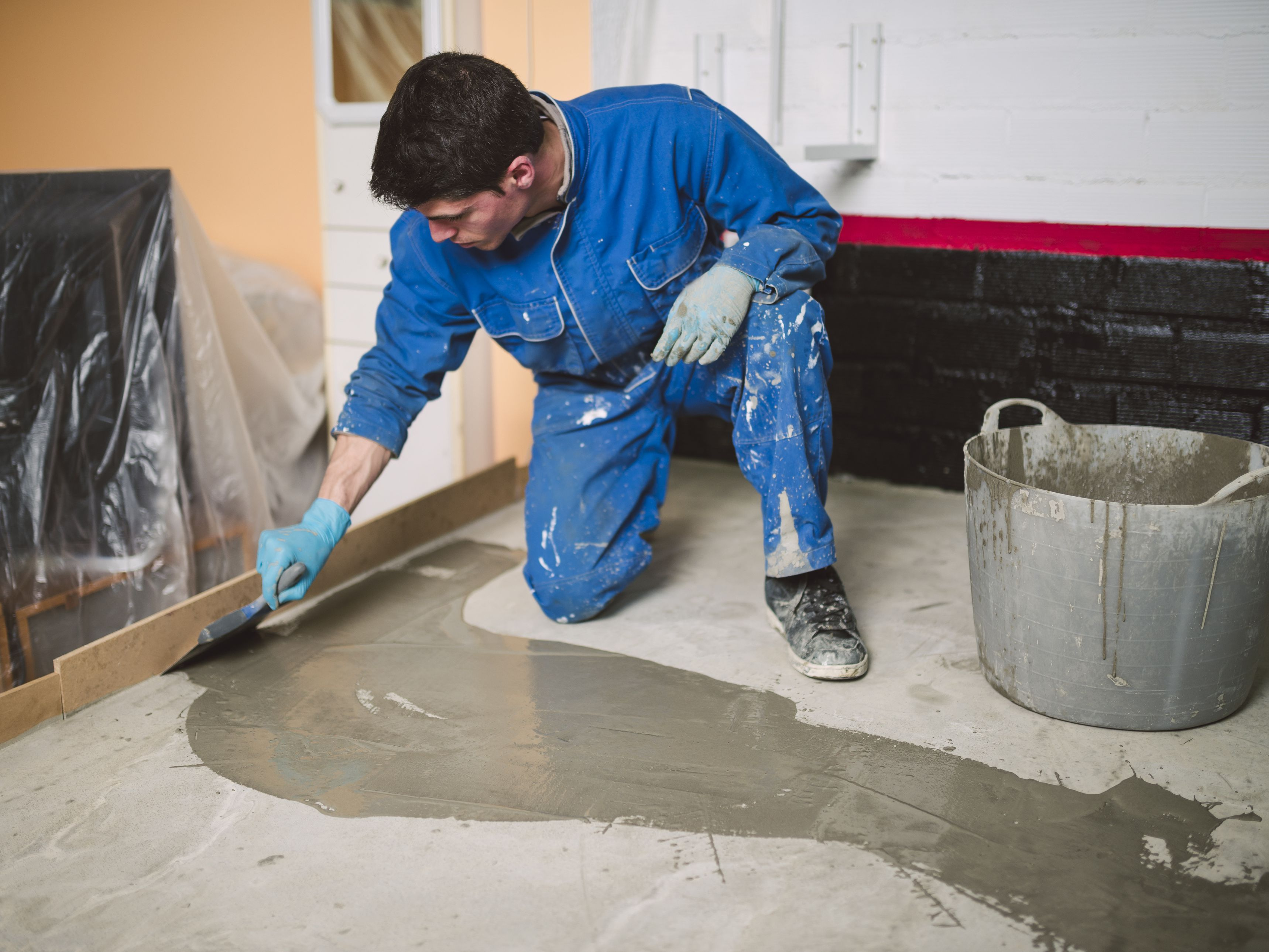 How To Install Cement Board Over Vinyl Flooring Carpet