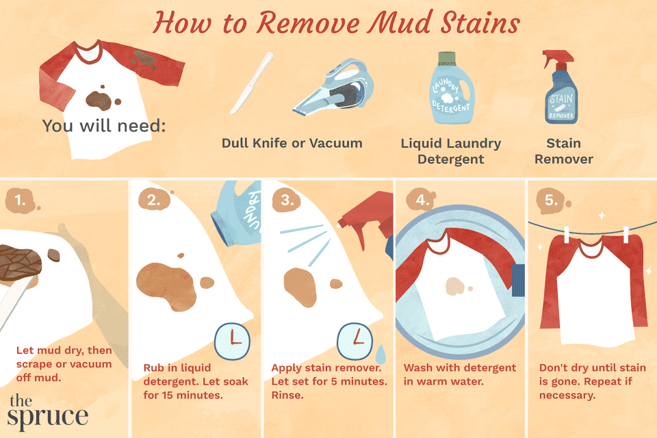 How to Remove Mud Stains