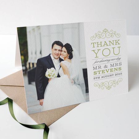 The ultimate guide to wedding thank you notes and etiquette photo wedding thank you cards junglespirit Images