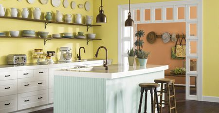 10 unexpected places to decorate your home with indoor.htm 10 easy ways to add color to your kitchen  10 easy ways to add color to your kitchen